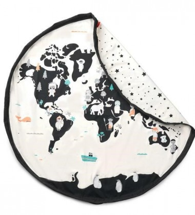 Worek-Mata dwustronna WORLD MAP 140 cm NEW!!