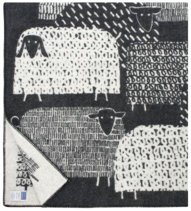 Koc Pakapaat Wool 130x180 Czarny