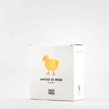 Skrobia ryżowa AMIDO DI RISO BABY CLEMENTINO 5 x 30 g