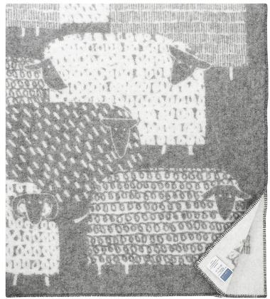 Koc Pakapaat Wool 130x180 Szary