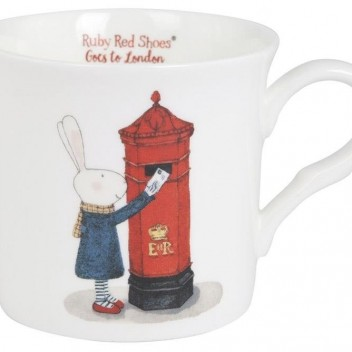 Kubek z porcelany Ruby Red Shoes 260 ml LONDON POSTBOX