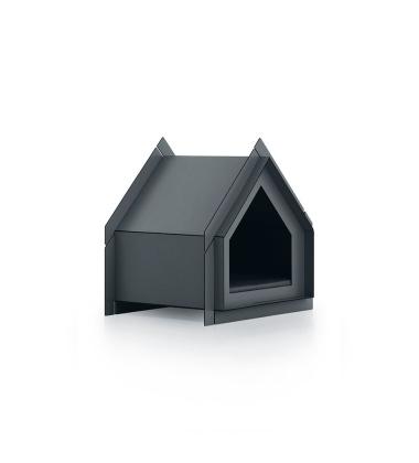 Domek Buda dla psa 53x38 Touffu XS Grafitowa