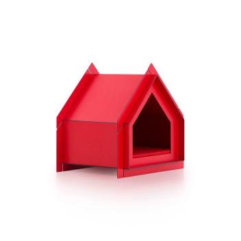 Domek Buda dla psa 65x54 Touffu S Czerwona