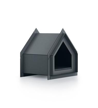 Domek Buda dla psa 65x54 Touffu S Grafitowa