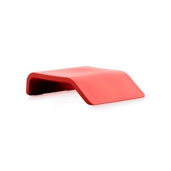 Stolik Podnóżek CLIP Table 70x55x19 Czerwony