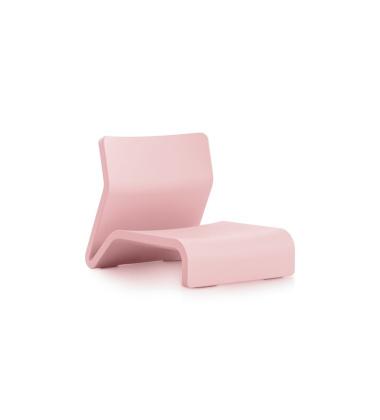 Fotel CLIP Armchair 74x55x57 Różowy