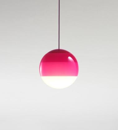 Lampa wisząca Dipping Light 30 cm Różowa