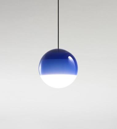 Lampa wisząca Dipping Light 30 cm Niebieska