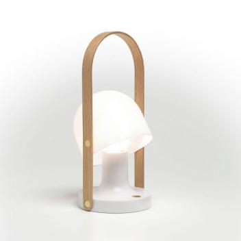 Przenośna lampa stołowa FOLLOW ME LED 12,3 cm