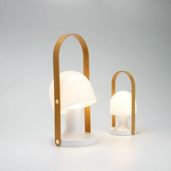 Przenośna lampa stołowa FOLLOW ME PLUS  LED 18,5 cm