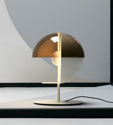 Lampa stołowa THEIA H43,5 Biała