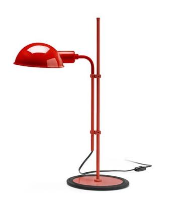 Lampa stołowa FUNICULI S Czerwona