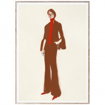 Poster 50x70 THE SUIT by Amelie Hegardt