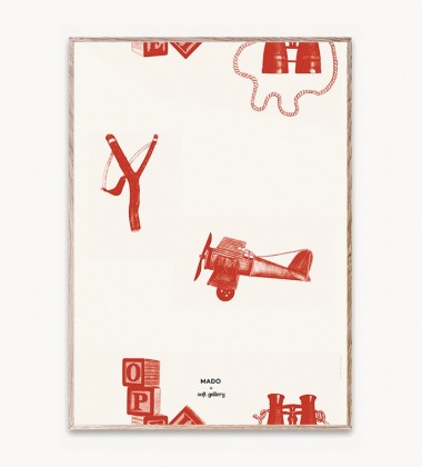 Poster 50x70 PLAYTIME by Mado