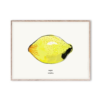 Poster 30x40 LEMON by Mado