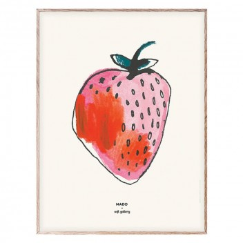 Poster 30x40 STRAWBERRY by Mado
