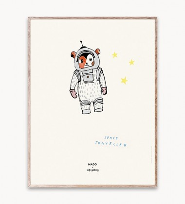 Poster 30x40 SPACE TRAVELLER by Mado