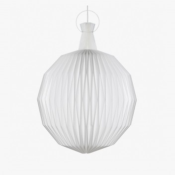 Lampa wisząca origami 101 M 34 cm Biała