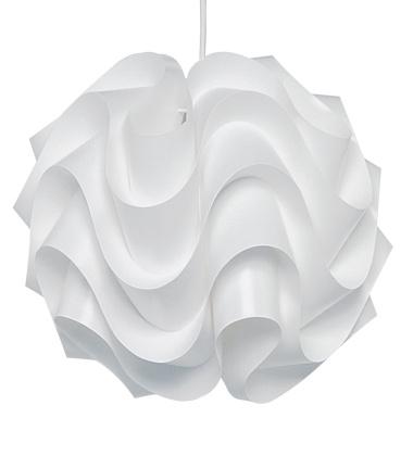 Lampa wisząca 172 L 44 cm Biała