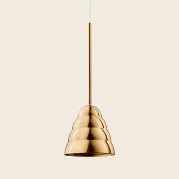 Lampa wisząca FIGURA STREAM LAMP 16,5 x 45 Mosiądz