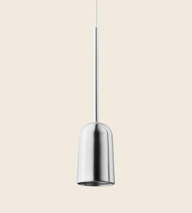 Lampa wisząca FIGURA ARC LAMP 10 x 45 Chrom