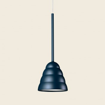 Lampa wisząca FIGURA STREAM LAMP 16,5 x 45 Granatowa