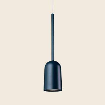 Lampa wisząca FIGURA ARC LAMP 10 x 45 Granatowa