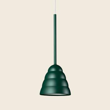 Lampa wisząca FIGURA STREAM LAMP 16,5 x 45 Zielona