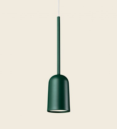 Lampa wisząca FIGURA ARC LAMP 10 x 45 Zielona