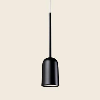 Lampa wisząca FIGURA ARC LAMP 10 x 45 Czarna