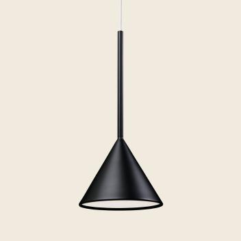 Lampa wisząca FIGURA CONE LAMP 16,5 x 45 Czarna