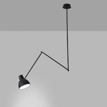 Lampa sufitowa na wysięgniku BLUX SYSTEM C Czarna