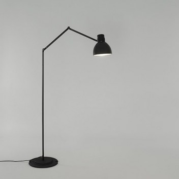 Lampa podłogowa łamana BLUX SYSTEM F30 Czarna