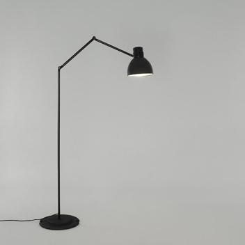 Lampa podłogowa łamana BLUX SYSTEM F50 Czarna