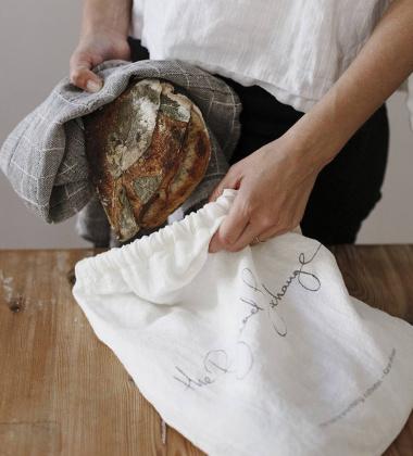 Ścierka kuchenna mała LASTU 35x50 Czarno-Lniana