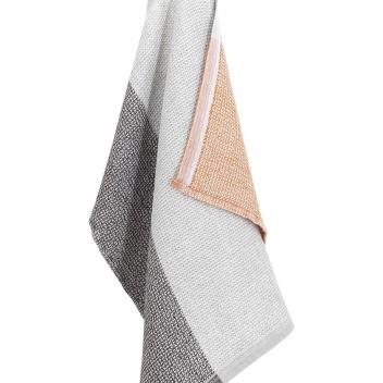 Ręcznik Terva 65x130 Biało-Multi-Rdzawy