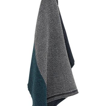 Ręcznik Terva 65x130 Czarno-Multi-Petroleum