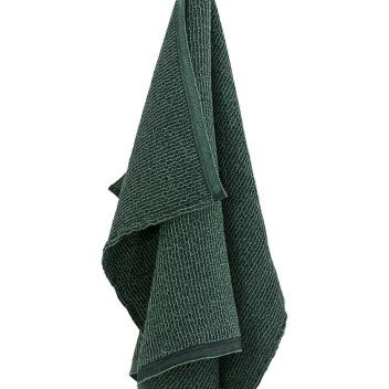 Ręcznik Terva 65x130 Czarno-Aspen Green