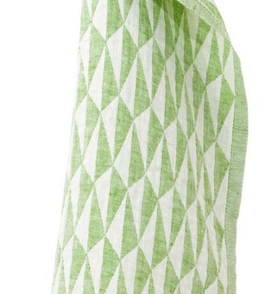 Ścierka kuchenna Triano 48x70 Biało-Zielona