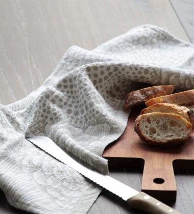 Ścierka kuchenna RUUT 48x70 Biało-Lniana