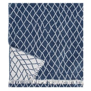 Koc Eskimo Wool 140x185 Granatowy