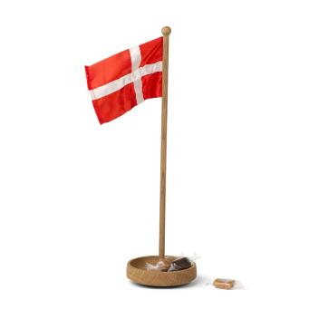 Flaga Danii THE TABLE FLAG 39x11 Dąb