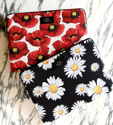 Etui na iPad Sleeve 25x18 POPPY