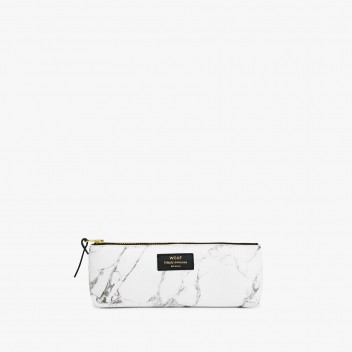 Piórnik Pencil Case WHITE MARBLE