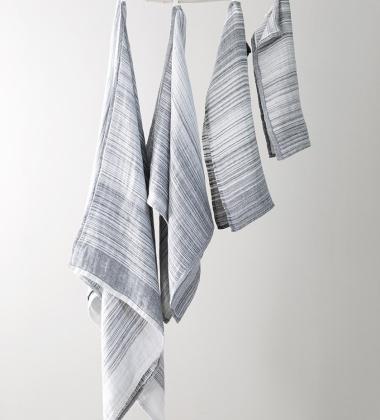Ręcznik lniany ULAPPA 35x50 Szary