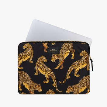 Etui na Laptopa 13-inch MacBook BLACK LEOPARD