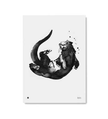 Poster wydra Teemu Jarvi 50x70 OTTER