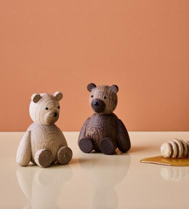 Drewniany Niedźwiadek TEDDY 9 cm Oak