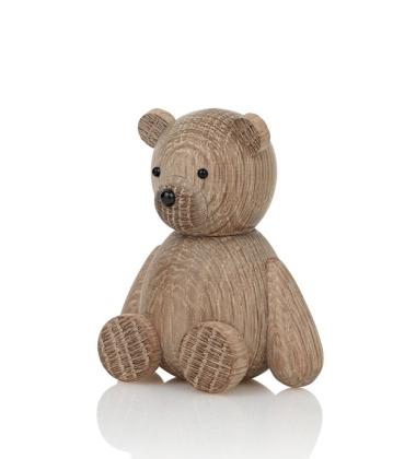 Drewniany Niedźwiadek TEDDY 9 cm Dąb