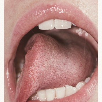 Poster 50x70 LIPS By Henrik Bülow